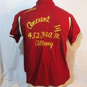 Vintage HILTON ALBANY TEAM BOWLING Retro Shirt